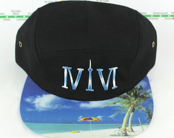 "Two-toned Embroidered Toronto 416 Five Panel Hat. Roman Numerals Stand For ""416"", With The ""1"" Resembling The CN Tower! GTA, YYZ Beaches!"