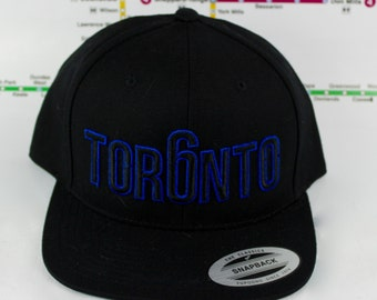 Beautifully Blue Tor6nto Hats! Original, Custom, GTA, YYZ, Snap backs, CN Tower, Toronto The 6ix, Area Code, 416 in Toronto, Roman Numerals!