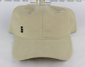 "Minimalist  ""The 6"" Collection Soft Tan Dad Hats. Original, Custom Strap backs, CN Tower, The Six, 6ix, Area, 416 Hats, 647, Roman Numerals!"