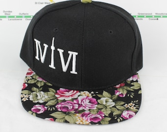"CHILDREN'S Forever Floral Toronto 416 hats. The Roman Numerals Stand For ""416"", With The ""1"" Resembling The CN Tower. GTA, yyz, ovo, T Dot"