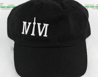 Le Hat! 100% Cotton 416 Dad/Polo Caps. Original, Custom, Strap Backs CN Tower, YYZ, GTA The Six, 6ix, Area Code 416 Hats With Roman Numerals