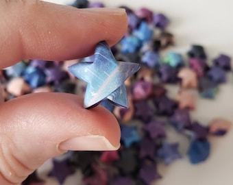 Rainbow Galaxy Origami Stars: Outer Space - Celestial - Deep Space - Cosmos - Night Sky - Mini Stars - Star Decorations