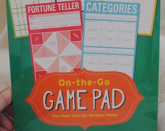 On The Go Game Pads for Parties or Travel