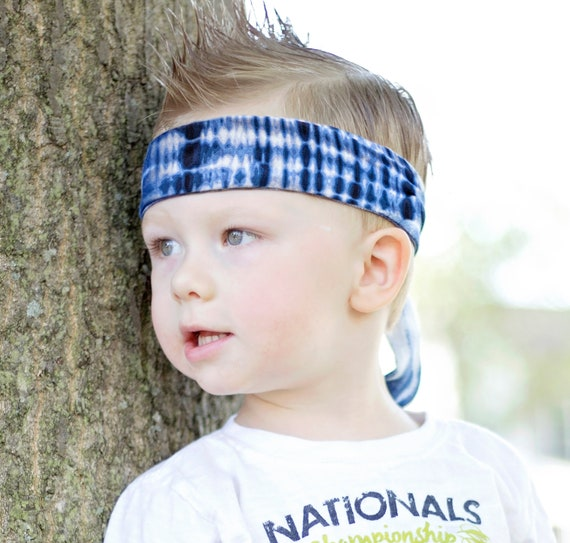 Headbands for Boys with Long Hair Boy Hair Band  Tie on Fabric Headband  BoyBand Gifts for Son Boy Accessories Hipster Boy Fashion
