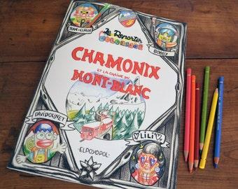 Coloriage Chamonix