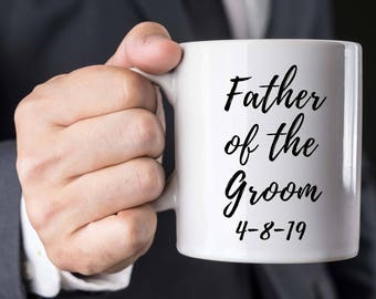 Father of the Groom Gift, Father of the Groom Mug, Wedding Mug, Groom's Father Gift, Bridal Party Gift, Wedding Gift Parents, gift for Dad
