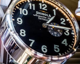 Shinola in Detroit at Eastern Market 8 x 10 canvas