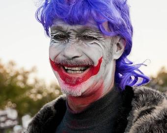 Unicorn Man Photo Facepaint 12x18