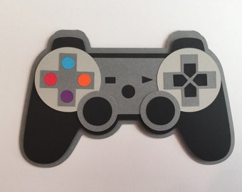 Handmade Birthday Game Controller Card Happy Gaming Xbox