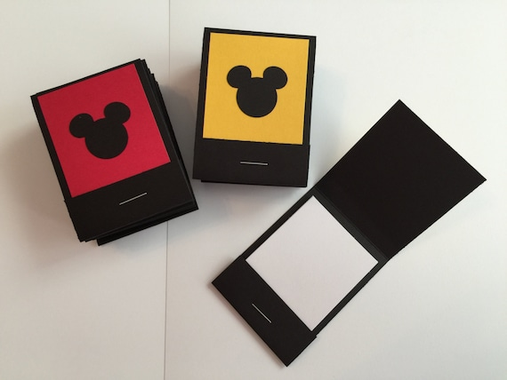 20 Mickey Mouse Matchbook Notepads Favors