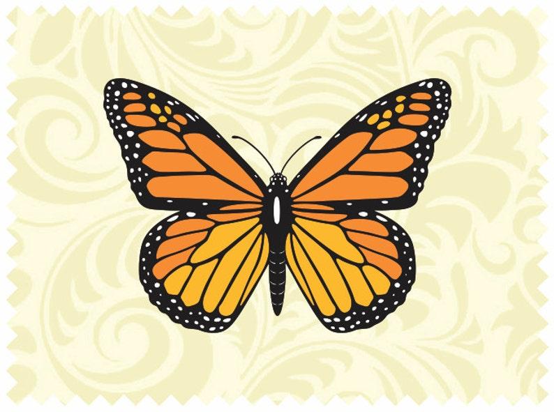 Monarch Butterfly Svg File Iron On Transfer Cricut Vinyl Etsy