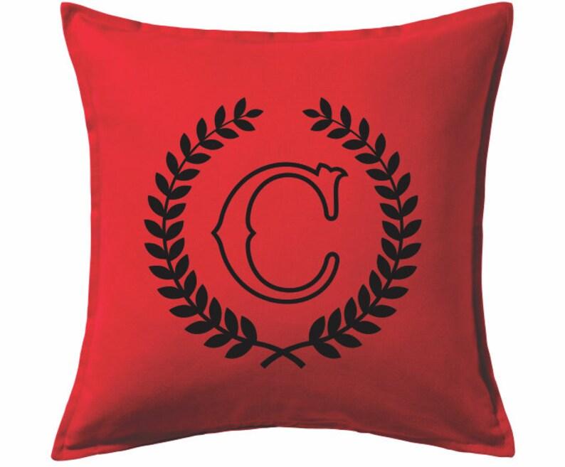 Download Letter C with Laurel Wreath Cricut SVG Design Clipart ...