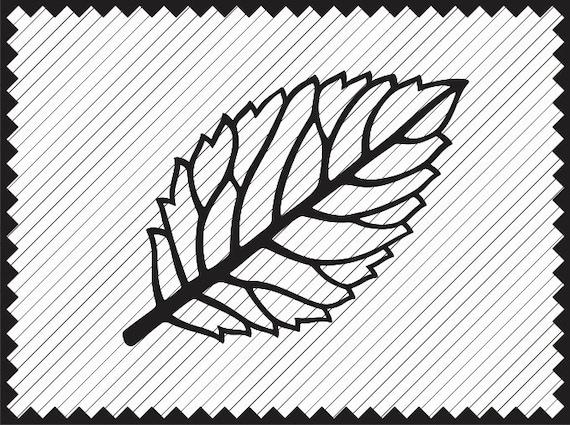 Leaf Template Design Clipart Cricut Paper Flower Leaves Svg Etsy