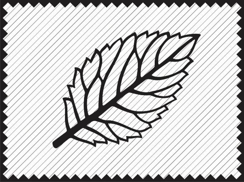 Leaf Template Design Clipart Cricut Paper Flower Leaves Svg
