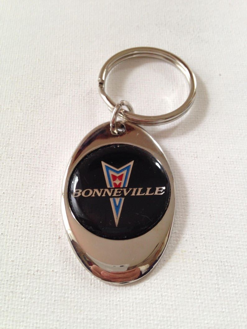 Oldsmobile Starfire Keychain Chrome Metal  Olds Key Chain