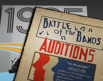 A0 Bates Motel Vintage Art Deco Movie Large Poster A4 Sizes A3 A1 A2