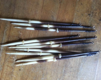 Choose 6 or 8 inch lengths 10 Balsa Wood Porcupine Style Quill Fishing Floats