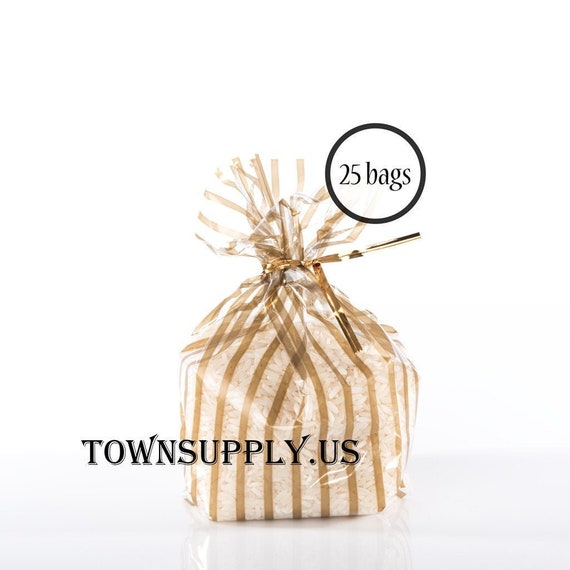 """50 Candy Apple Clear Cello Bags   4/"""" x 2/"""" x8/"""""""