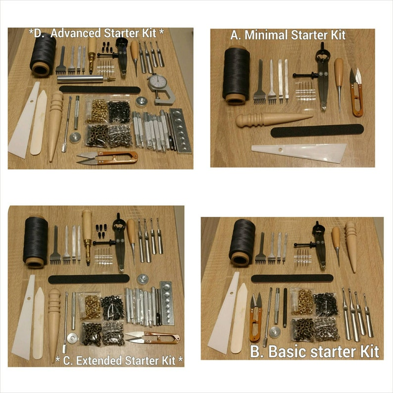 Free Shipping Leather Craft Kit for handmade DIY project image 0