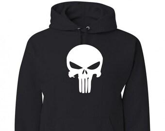 77f3eacf7 Punisher Skull Sweatshirt Hoodie
