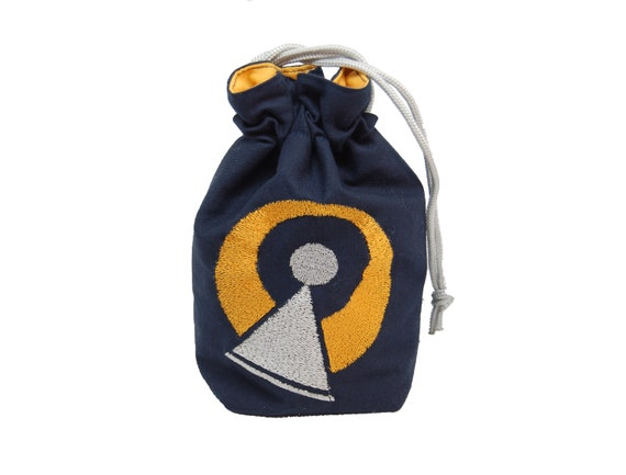 Drawstring Backpack Dice Bags