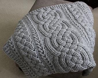 Chunky Crochet Throw Etsy