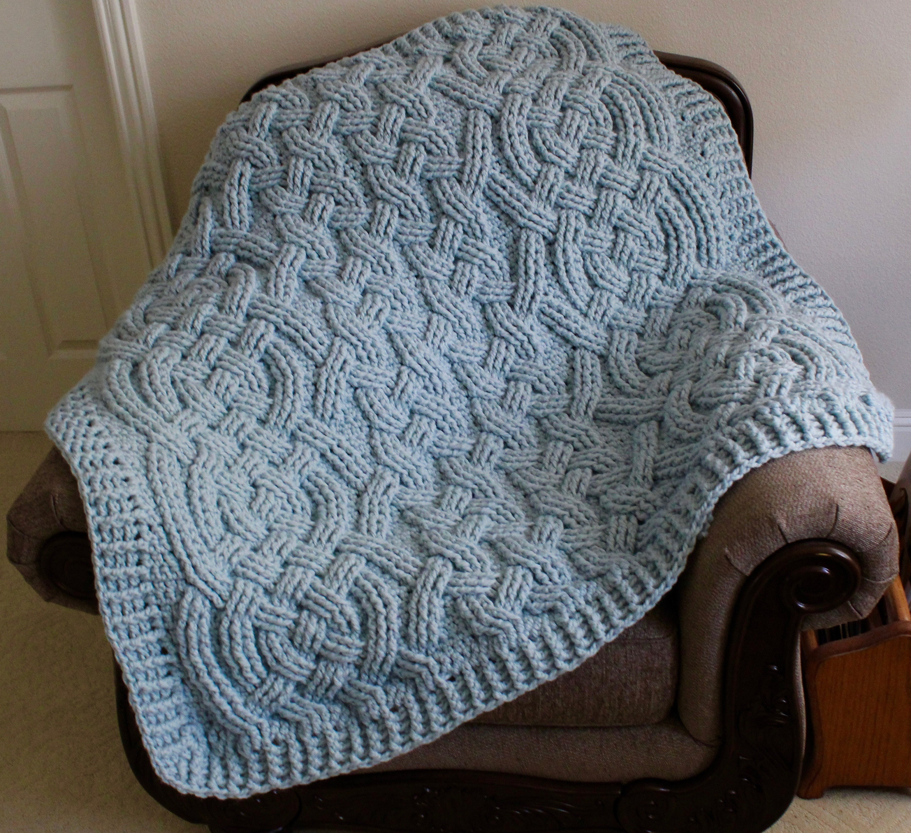 Perfect Crochet Fisherman Afghan Pattern Frieze - Easy Scarf ...