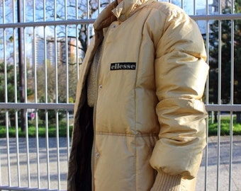 However track / Ellesse jacket / Golden / Made In Italy