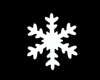 3 Inch Snowflake Cut Outs Set of 15