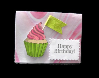 Happy Birthday Card, Birthday Card Ready to Ship