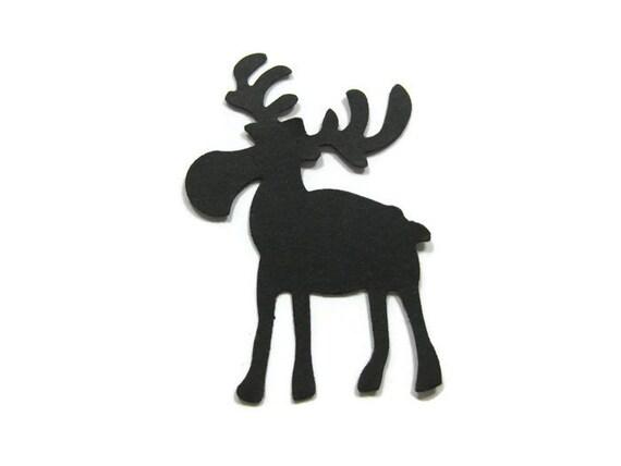 Moose Die Cut Set Of 25 Moose Cut Out Set Of 25
