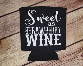 Sweet as Strawberry Wine Can Cooler