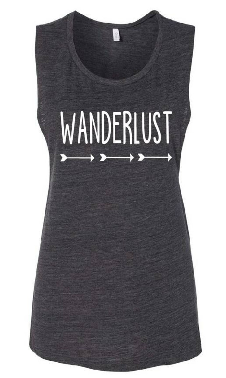 2d807598 NEW Wanderlust Flowy Scoop Muscle Shirt Multiple Colors | Etsy