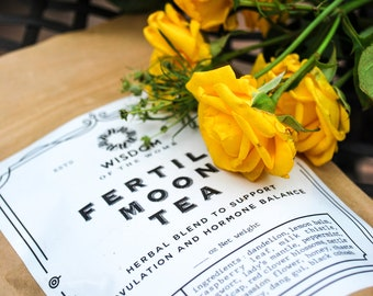 Fertile Moon Tea: Herbal Blend to Support Ovulation and Hormone Balance (PCOS)