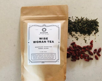 Wise Woman Tea: Herbal Blend for Menopause Support