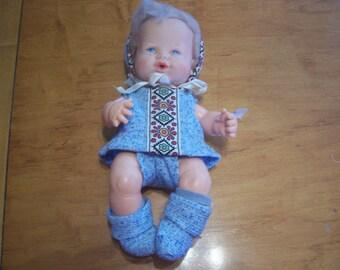 Vintage Ideal Baby Boy Doll