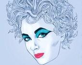 Liz Taylor Hybris (signed prints) © Iván García.
