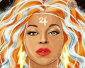 Jupiter / Beyoncé © Iván García.