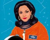 Lola Flores en el espacio (signed prints) © Iván García.