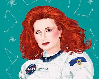 Rocío Jurado en el espacio (signed prints) © Iván García.