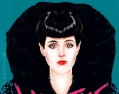 Sean Young as Rachael from Blade runner (signed prints) © Iván García.