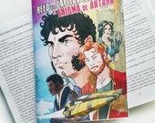 Reed y el Capitán Eclipse. El enigma de Antara © Iván García. Novela corta de ciencia ficción.