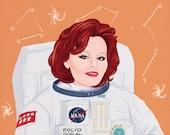 Rocío Dúrcal en el espacio (signed prints) © Iván García.
