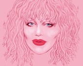 Courtney Love Hybris (signed prints) © Iván García.