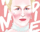 Glenn Close as Marquise de Merteuil - limited edition prints © Iván García