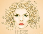 Debbie harry Hybris (signed prints) © Iván García.