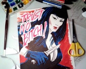 Trust no bitch N1 - Tura Satana © Iván García  (Limited edition prints, signed and numbered)