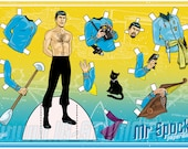 Mr Spock. Paperdoll (signed prints)  © Iván García