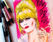 Patsy Stone says  © Iván García  (Limited edition prints, signed and numbered)
