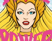She-ra says © Iván García (signed prints)